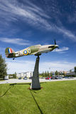 Spitfire monument world war 2 Royalty Free Stock Photography