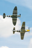 Spitfire and Mustang Stock Images