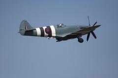 Spitfire no vôo Fotografia de Stock