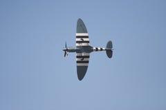 Spitfire no vôo Imagem de Stock