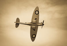 Spitfire overhead Stock Photos