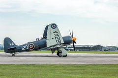 Spitfire Plane. A photo of Spitfire during flight on a mild english afternoon. Made possible by yeovilton airshow Stock Photography