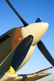 Spitfire Prop royalty free stock photos