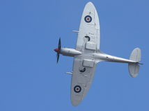 Spitfire Rolling Royalty Free Stock Images