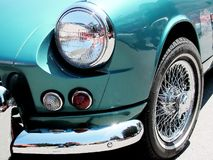 Spitfire2. Classic Car Detail and Features Royalty Free Stock Photos
