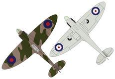 Spitfires royalty free illustration