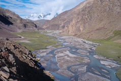 Spiti valley Royalty Free Stock Image