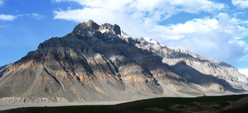 Spiti valley in the Himalayan mountains, India Royalty Free Stock Photo