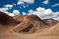 Spiti valley landscape Royalty Free Stock Photo