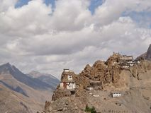 Spiti Valley Monastery Royalty Free Stock Photo