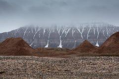 Spitsbergen. A view of Spitsbergen, Svalbard, 2012 Royalty Free Stock Photos