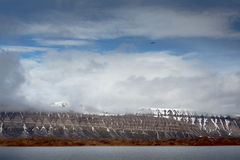 Spitsbergen. A view of Spitsbergen, Svalbard, 2012 Royalty Free Stock Images