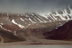 Spitsbergen. royalty free stock images
