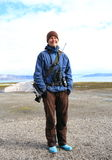 Spitsbergen: Bear Guard Stock Photos