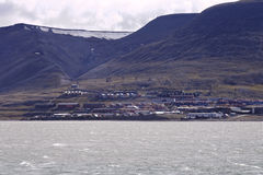 Spitsbergen island Royalty Free Stock Photo