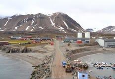 Spitsbergen/Ny-Ålesund: Cityscape Stock Images