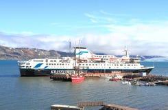 Spitsbergen/Ny-Ålesund: Cruise Ship Stock Photography