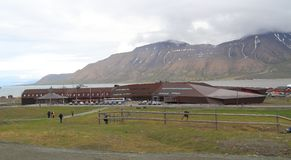 Spitsbergen: University Center in Longyearbyen Royalty Free Stock Photo