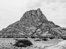 Spitskoppe mountain in Namibia Royalty Free Stock Photos