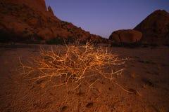 Spitskoppen en Namibie Images libres de droits