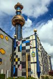 The Spittelau incineration plant in Vienna, Austria. Royalty Free Stock Image