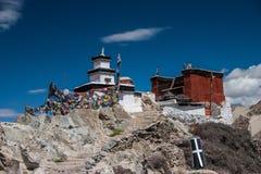 Spituk Monastary Ladakh imagen de archivo