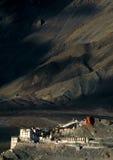 Spituk Monastery Stock Photo