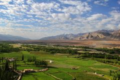 Spituk valley, Ladakh range, Northern India Stock Images