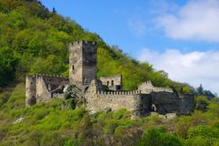 Spitz castle ruin Hinterhaus Royalty Free Stock Images