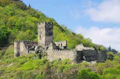 Spitz castle ruin Hinterhaus Stock Photography