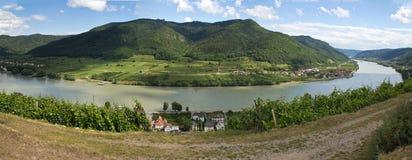 Spitz with Danube Stock Image