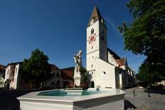 Spitz an der Donau, Wachau, Austria Royalty Free Stock Photos