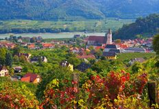 Spitz in Wachau Stock Image