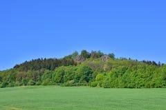 Spitzberg de la montaña en sajón Fotografía de archivo libre de regalías