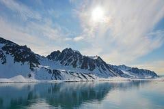 Spitzbergen Svalbard Island. Magdalena Fjords Royalty Free Stock Photo