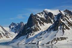 Spitzbergen Svalbard Island Stock Photography