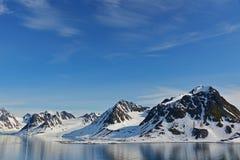 Spitzbergen Svalbard Island. Magdalena Fjords Stock Photography