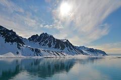 Spitzbergen Svalbard Island. Magdalena Fjords Stock Photo