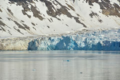 Spitzbergen Svalbard Island. Magdalena Fjords Royalty Free Stock Photography
