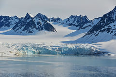 Spitzbergen Svalbard Island Royalty Free Stock Photos