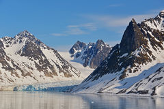 Spitzbergen Svalbard Island. Magdalena Fjords Stock Image