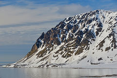 Spitzbergen Svalbard Island Stock Photo