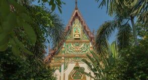 Spitze auf dem Tempel Lizenzfreies Stockbild