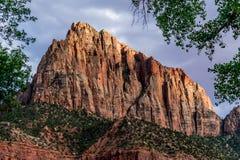 Spitze bei Zion National Park, Utah Stockfoto