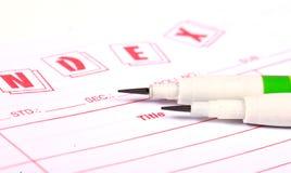 Spitze Bleistifte Lizenzfreies Stockfoto