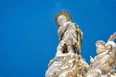 Spitze der Basilika di San Marco in Venedig Stockbilder