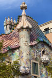 Spitze der Casa Batllo Stockfotografie