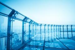 Spitze der modernen Stadt Stockfoto