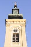 Spitze der orthodoxen Kirche Stockfotos