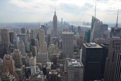 Spitze der stein- Rockefeller-Mitte stockfotos